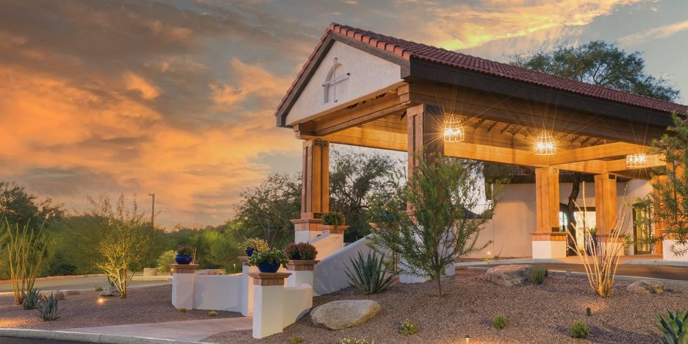 The front view of Haven Health Tucson a skilled nursing facility