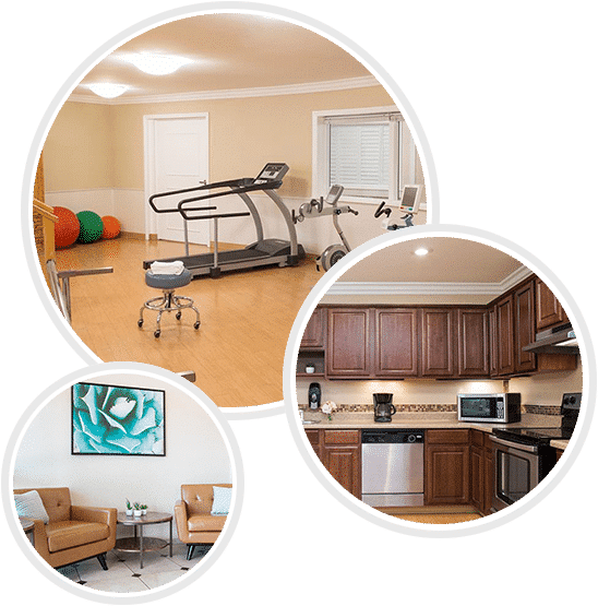 Haven Health Scottsdale Rehabilitation Gym and Common areas