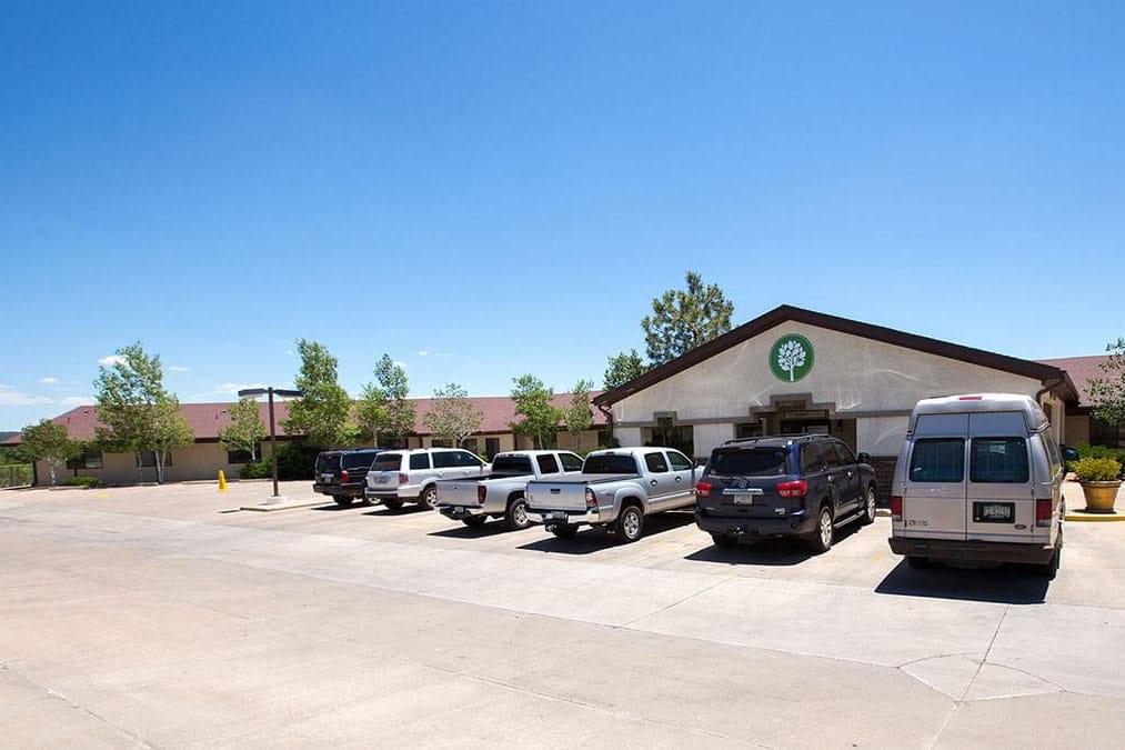 Haven Health parking lot
